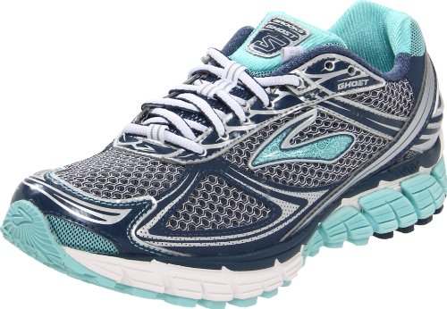 Brooks Women's Ghost 5 W Blue/White/Black Trainer 1201131B944 8 UK, 10 US
