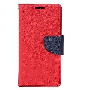 MV FLIP COVER FOR Xiaomi Mi4i - (Red, Blue)