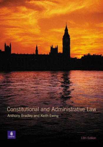 Constitutional and Administrative Law with