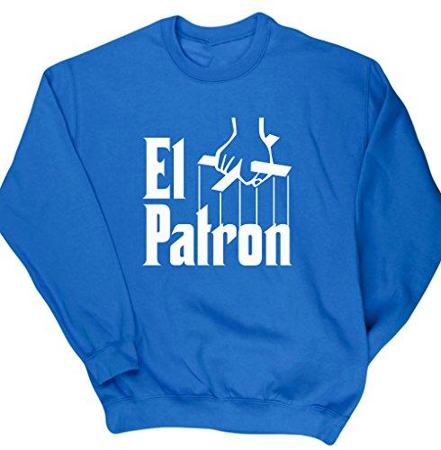 hippowarehouse-el-patron-pablo-escobar-unisex-jumper-sweatshirt-pullover