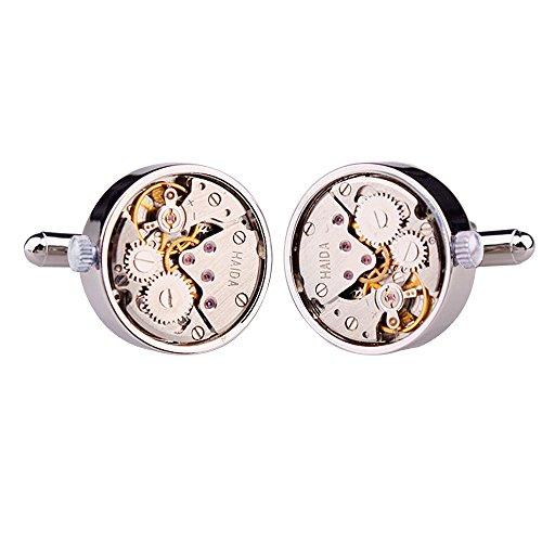watch-movement-herren-manschettenknopfe-cufflinks-steampunk-uhrwerk-uhr-bewegung-edelstahl-silber