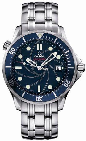 Omega Seamaster James Bond 007 Steel Blue Mens Watch 2226.80