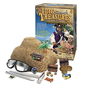 I DIG Treasures Curse of Pirate Island Excavation Adventure