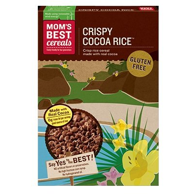 Mom's Best Cocoa Rice Crisp Cereal - 17.5 OZ - 1