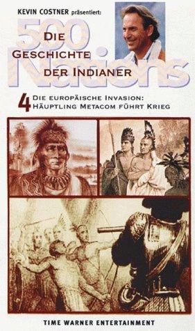 500 Nations - Die Geschichte der Indianer 4: Häuptling Metacom führt Krieg [VHS]