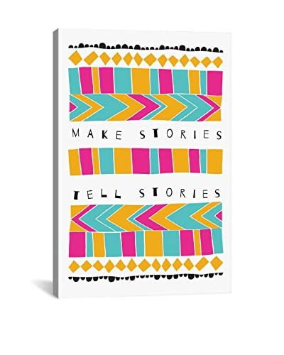 Susan Claire Make Stories Gallery Wrapped Canvas Print
