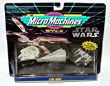 Star wars micro machines collection 1 - Millenium falcon, X-Wing + Star destroyer