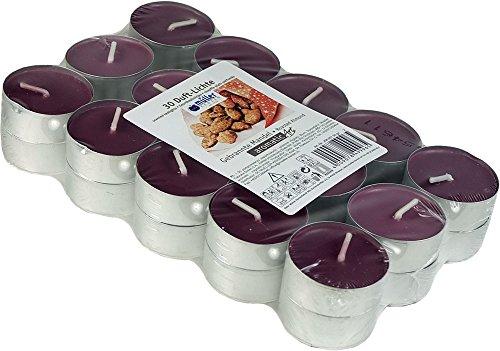 30candele colorate e profumate-candeline, 4ore., aroma: geröstete mandorla, prodotto di marca di Müller candele