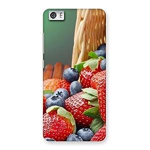 Delicious Straberry Multicolor Back Case Cover for Xiaomi Redmi Mi5