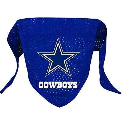 Hunter MFG Dallas Cowboys Mesh Dog Bandana, Small