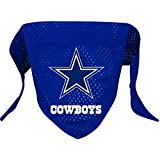 Hunter MFG Dallas Cowboys Mesh Dog Bandana, Large