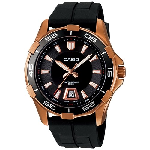 Casio #MTD1063-1AV Men's 100M Analog Sports Watch