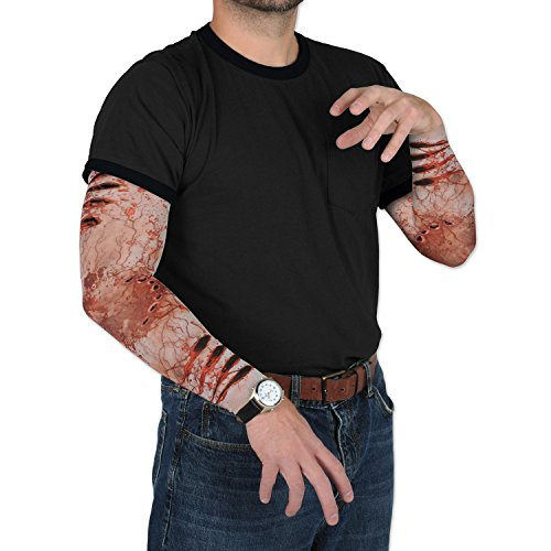 Beistle-Zombie-Bite-Party-Sleeves-Multicolor