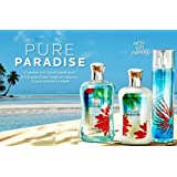 Bath & Body Works Signature Collection Pure Paradaise Gift Set Shea Enriched Shower Gel ~ Body Lotion & Fine Fragrance...