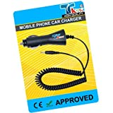 TK9K[TM] - MOBILE PHONE CAR BATTERY CHARGER FOR NOKIA ONLY FOR 5140i UK Spec CAR Charger for NI-MH, LI-ION & LI-POL Batteries. - Rapid charge. - 12 Months Warranty - CE approved - Lightweight - Multi input voltage capability - Maintains a constant supply