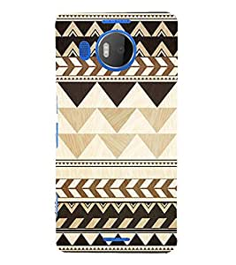 EPICCASE amour angles Mobile Back Case Cover For Microsoft Lumia 950 XL (Designer Case)