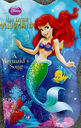 The Little Mermaid a Mermaid's Song Shaped Board Book - 1