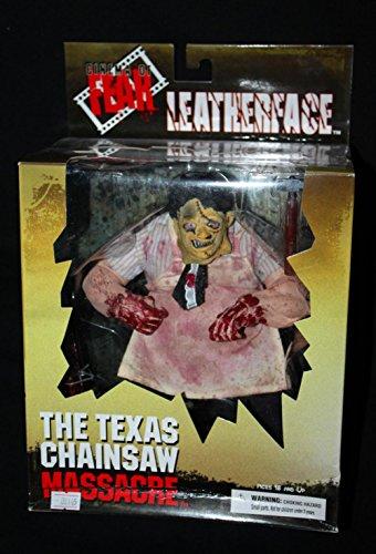 [Terror Movie The Texas Chainsaw Massacre Mezco Cinema Of Fear Leatherface Homicidomania 23CM Action Figure] (Texas Chainsaw Massacre Costume For Kids)