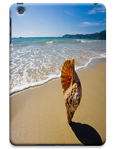 Fantastic Faye Cell Phone Cases For Ipad Mini No.7 The Fashion Design With Warm Sunshine Beach Blue Sky Clean Water Sea Star Beautiful Shell Slipper