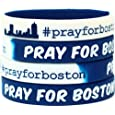 1 Pray for Boston Fundraiser Awareness Wristband
