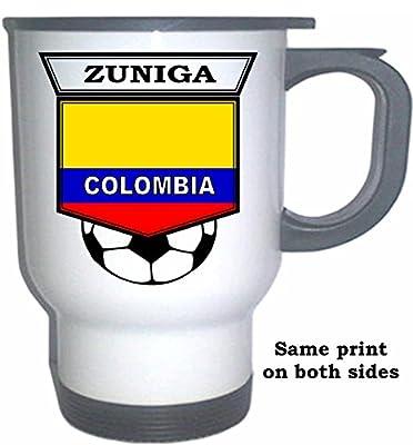 Juan Camilo Zuniga (Colombia) Soccer White Stainless Steel Mug