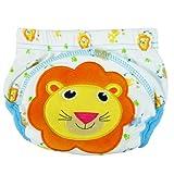 La vogue bebé capa impermeable lavable algodón à3-16kg Imprimé taillexl Lion