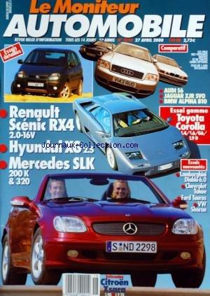 moniteur-automobile-le-no-1210-du-27-04-2000-essais-renault-scenic-rx4-hyundai-xg-mercedes-slk-toyot