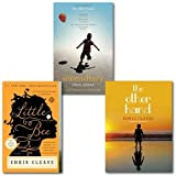 Chris cleave chris cleave 3 book collection bundle set, (little bee, the other hand, incendiary)