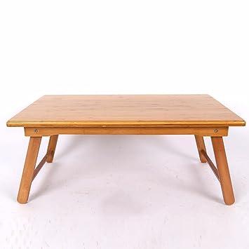 uzi-lazy persone benessere minimalista letto scrivania per computer, casa multifunzione Quattro piedi tavolo pieghevole
