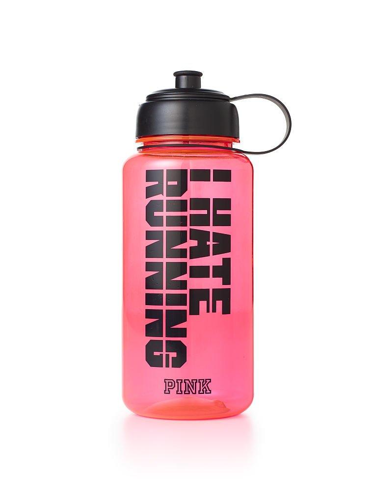 Nike T1 Flow Water Bottle, 32-Ounce, Vivid Pink Black