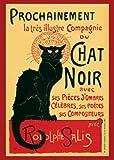 1art1 1469 Theophile Alexandre Steinlen - Tournee du Chat Noir Poster (91 x 61 cm)