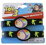 Disney Toy Story Buzz Lightyear 2pc Rubber Bracelet Set-Buzz Lightyear Kids Bracelet Set