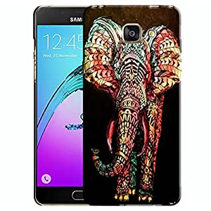 Theskinmantra Symmetric Elephant Samsung Galaxy A7 (2016 Edition) Mobile back cover