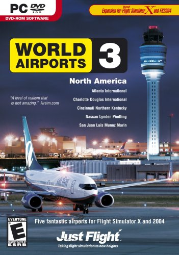 World Airports 3 North America Expansion for Flight Simulator X and 2004