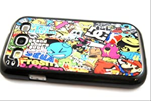 Sticker Bomb Samsung Galaxy S3 I9300 Case Back Cover-Hard Plastic and Back metal