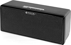 Woxter AIR SOUND BT-100 - Altavoces portátiles inalámbricos, color negro