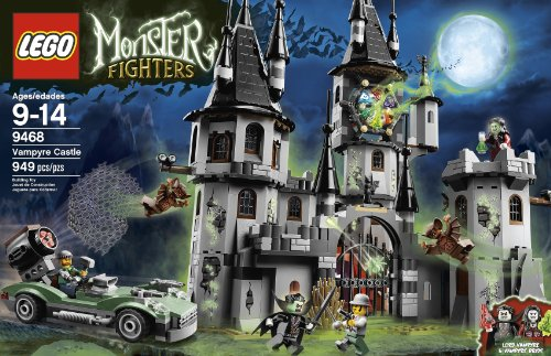 LEGO Monster Fighters Vampyre Castle 9468 Amazon.com