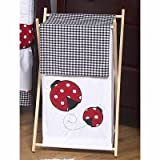 Sweet Jojo Designs Baby And Kids Clothes Laundry Hamper For Sweet Jojo Designs For Ladybug Polka Dot Bedding Set