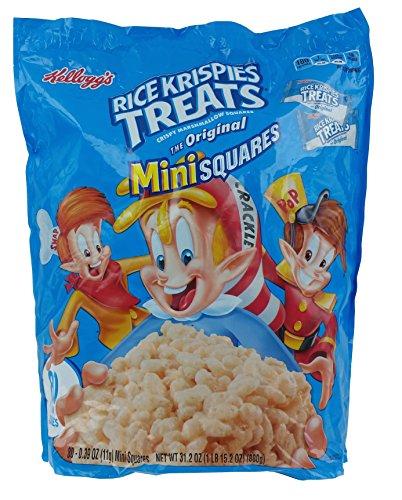 Kellogg's Rice Krispies Treats 80 Pack of Mini Squares (Rice Squares compare prices)
