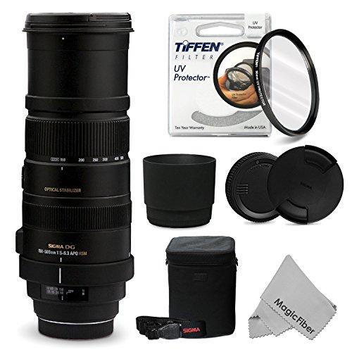 Sigma 150-500Mm F/5-6.3 Af Apo Dg Os Hsm Telephoto Zoom Lens For Nikon Dslr D7100 D7000 D5300 D5200 D5100 D5000 D3300 D3200 D3100 D3000 Cameras