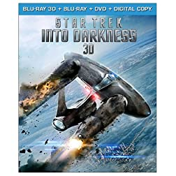 Star Trek Into Darkness (Blu-ray 3D + Blu-ray + DVD + Digital Copy)