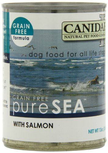 Canidae 12-Pack Canned Dog Food, Grain Free Salmon Formula, 13-Ounce Can