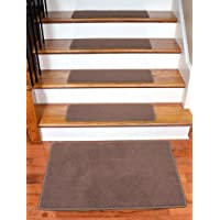 Dean Premium Stainmaster Nylon Carpet Stair Treads - Odette Point Mantle (13) 30