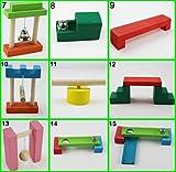 【Life Bank 】 ドミノ 仕掛け 13種類 セット 自宅 プレゼント 女の子 子供のおもちゃ 男の子 木のおもちゃ 積木 積み木 知育玩具 出産祝 誕生日プレゼント ブロック 1歳 2歳 3歳 クリスマス