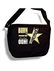Contra Bassoon Born Play The Oon - Sheet Music Accessory Bag MusicaliTee
