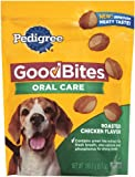 Pedigree-Good-Bites-Oral-Care-Snack-Food-for-Dogs-Roasted-Chicken-6.7-Ounce-Pack-of-10