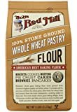 Bob's Red Mill Pastry Flour Whole Wheat, 5-Pound (Pack of 4)