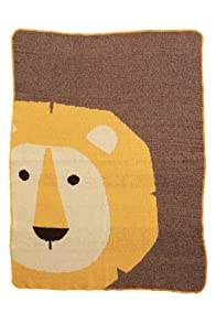 Green 3 Apparel Made in the USA Recycled Lion Throw (Brown)