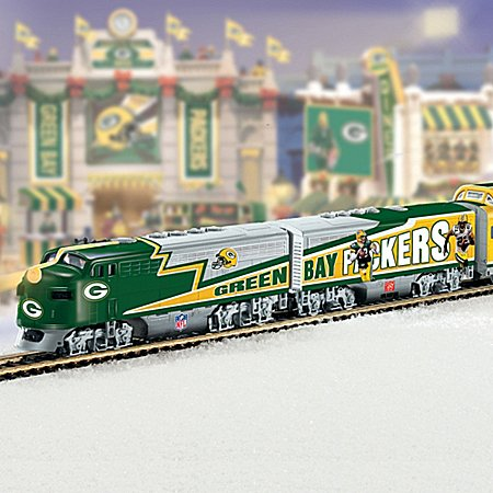 Nfl Green Bay Packers Super Bowl Champions Express Train Collection - Subscription Plan