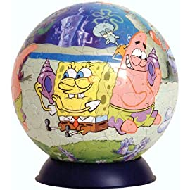 Ravensburger Spongebob 240 Piece Puzzleball